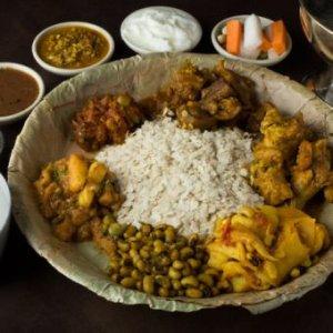 ネパール民族料理 アーガン「タカリダルバット」セットコース