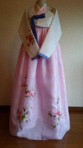 チョゴリ.com レンタルチョゴリ 桜色のチマチョゴリ27,000 円